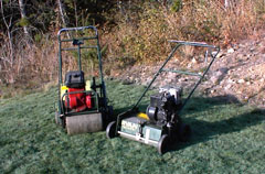 Renothin and Aerator For Lawn Renovations